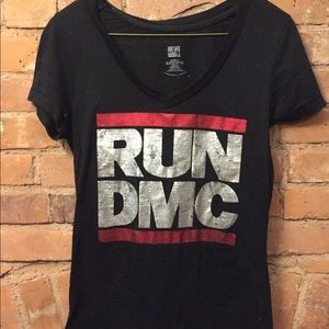black run dmc shirt